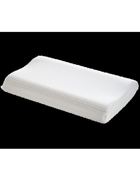 Cuscino Memory Foam Per Cervicale.Cuscino Memory Foam Venixsoft Anti Cervicale Doppia Onda Traspirante Mod Luxury Dispositivo Medico Classe I Made In Italy